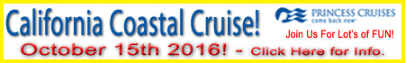 Cruise with Us! Oct. 2016