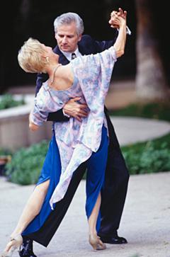 Granny swinger with black male